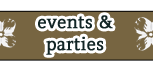 Rentals - Private Parties and more